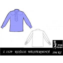 Westernová košile Will