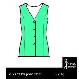 Princesová vesta Klára
