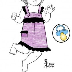 Dívčí šatečky Diana