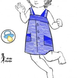 Dívčí šatečky Svatava