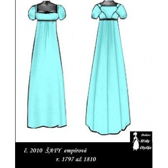 Empírové chemise, Julie  r. 1790 až 1820