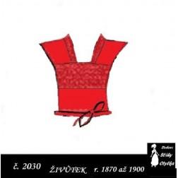 Živůtek Zuzka r. 1870 až 1900