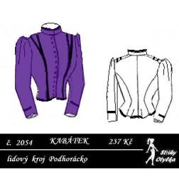 Kabátek Dorinka, Podhorácko r. 1870 až 1900