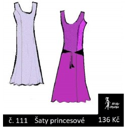 Šaty princesové Johana