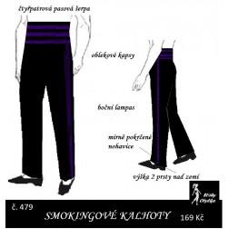 Smokingové kalhoty Karel