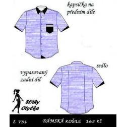 Halenka košilová, Jana