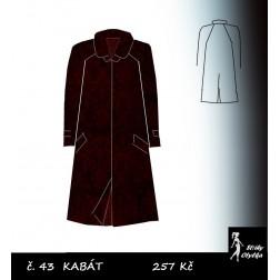 Kabát s raglánovým rukávem Robert