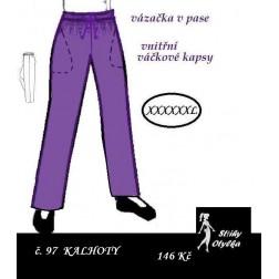 Kalhoty sportovní, Ctirad