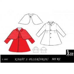 Kabát s pelerínou Vilma