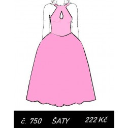 Šaty bez rukávů Viola