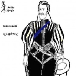 Kabátec renezančního šlechtice
