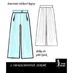 Kalhotová sukně Jindra