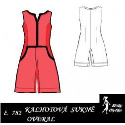 Kalhotová sukně, overal princesový Regina