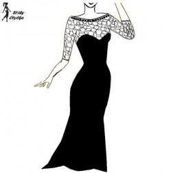 Plesové šaty Anežka