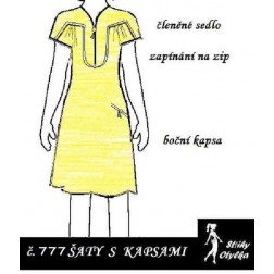 Šaty bez rukávů Danina